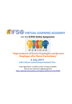 IFSO Virtual Learning Academy Second Online Symposium July 2017