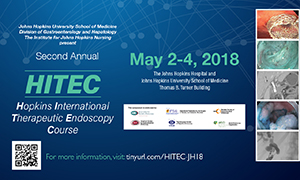 Second Annual HITEC: Hopkins International Therapeutic Endoscopy Course